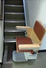 いす式階段昇降機の事例11